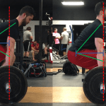 image of proper hip position deadlift
